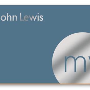 My John Lewis LoyaltyCard
