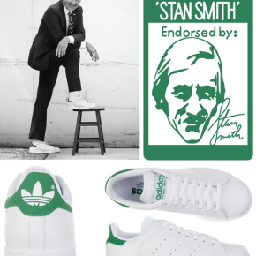 It's not just a shoe, it's a person: introducing Mr StanSmith