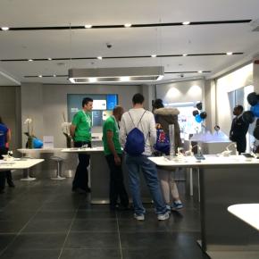 Experiencing the Samsung ExperienceStore