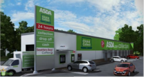 Asda to launch unmanned click and collect sites